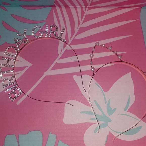 Accessories - NEW Cat Ear Gold and Pearl Headband